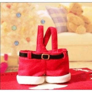 Сумка  сувенир - штаны  Санта Клауса, Арт.№069