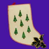 Мешок для новогодних подарков, Арт. №066